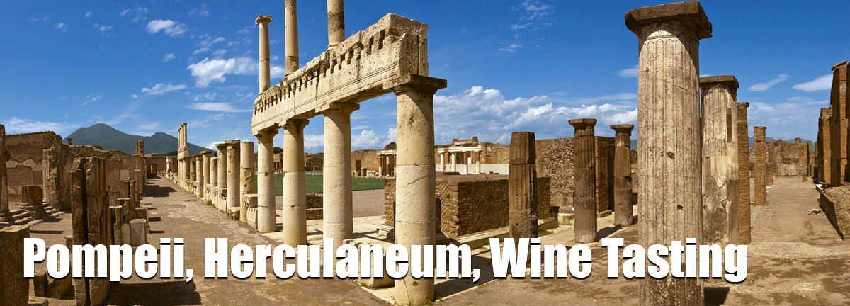 Pompeii herculaneum wine tasting
